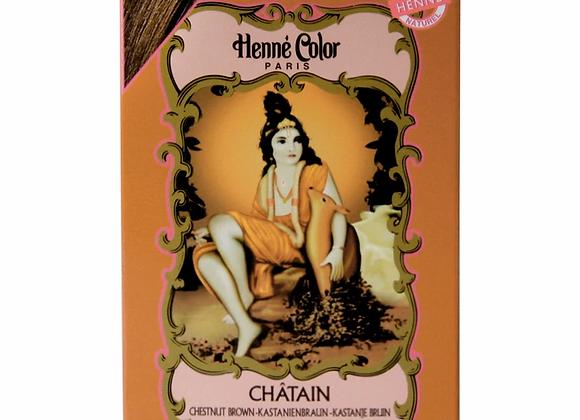 Henne Color Henna Powder Hair Colour 100g Chestnut Brown