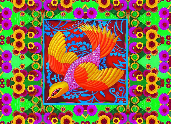 Yellow-headed Folk Bird