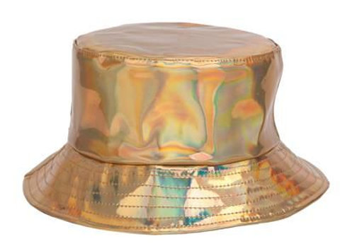 Gold Holographic Sun Hat