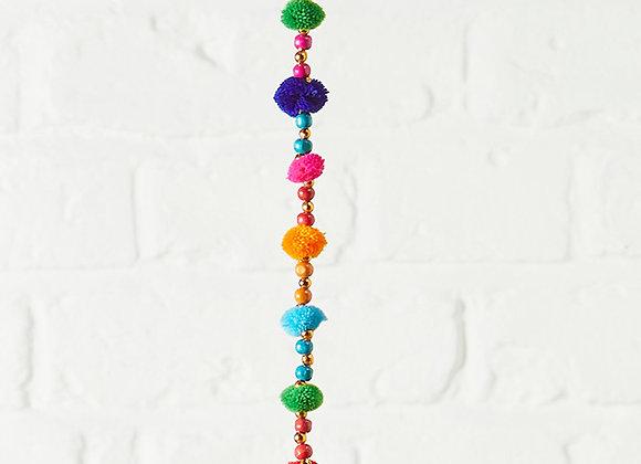 Colour Pom-Pom String