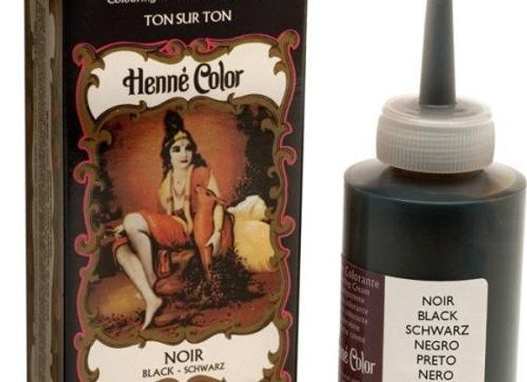 Henne Color Cream Hair Color 90ml Black