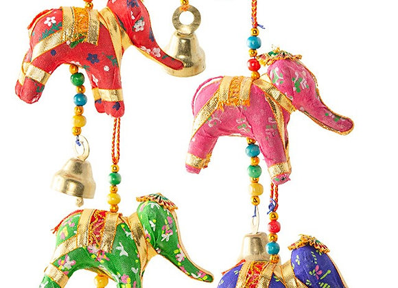 Elephant Decoration with Bell