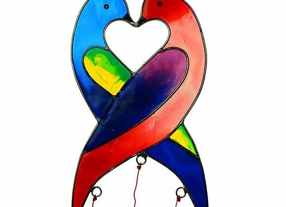 Love Birds Suncatcher
