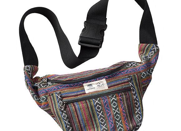 Gheri Fabric Belt Bag