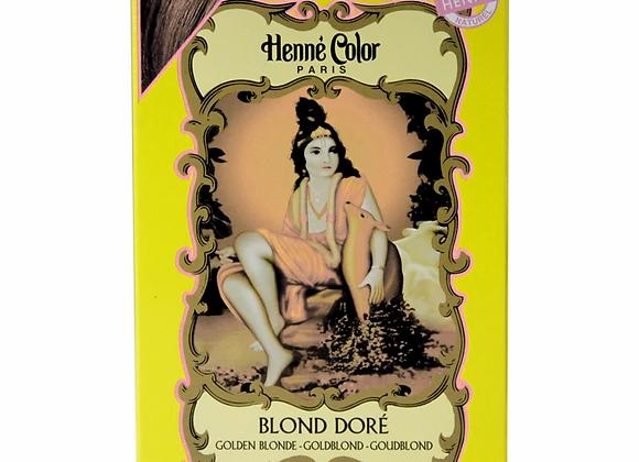 Henne Color Henna Powder Hair Colour 100g Golden Blonde