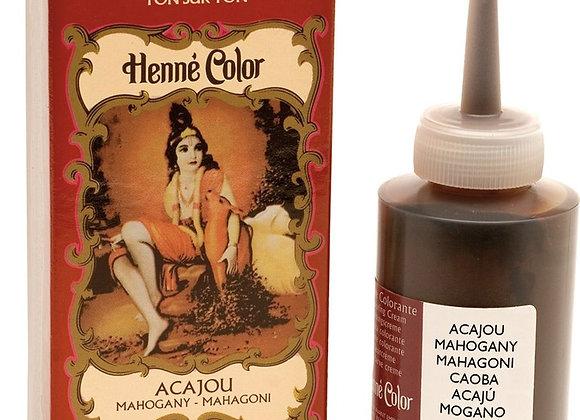 Henne Color Cream Hair Color 90ml Mahogany