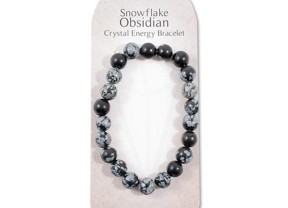 Snowflake Obsidian - Strength