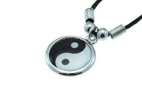 Yin Yang Corded Necklace