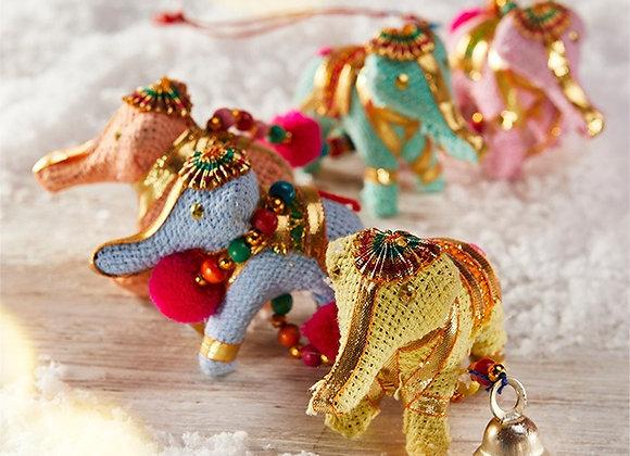 Pastel Coloured Elephant String