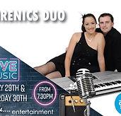 live-music---Small-screens-sirenics-duo-