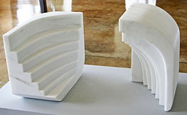outdoor marble stone sculpture