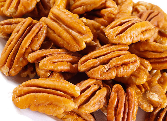 Papershell Pecan Halves 1lb Shelled