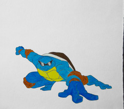 Teenage Mutant Ninja Squirtle