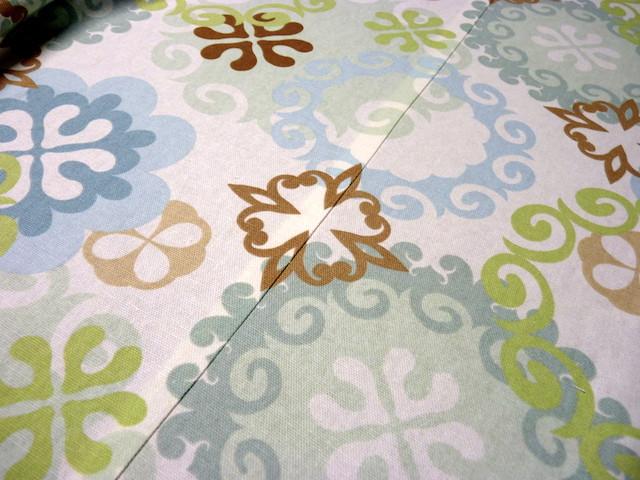 A pattern matched fabric