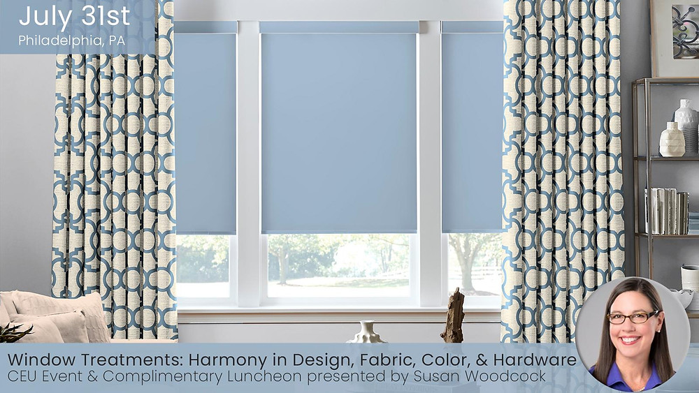 Window Treatments Seminar with Susan Woodcock