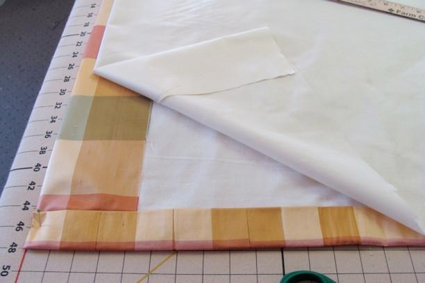 interlined drapery