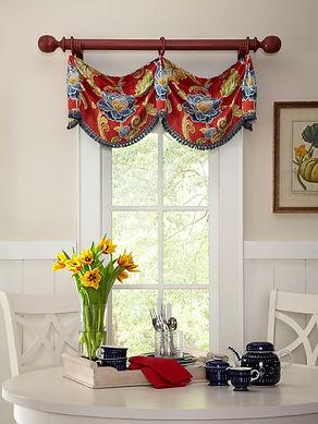 Learn to sew custom window valances.