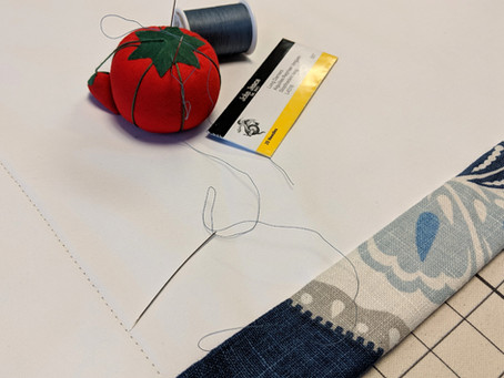 30 Minutes with Workroom Tech:  Episode 56 / Hand Sewing