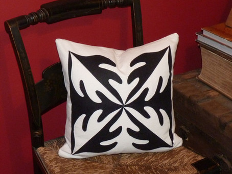 Bold and Easy Appliqué Pillow