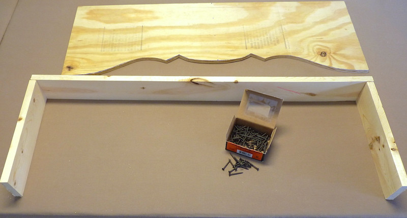 putting together the cornice board
