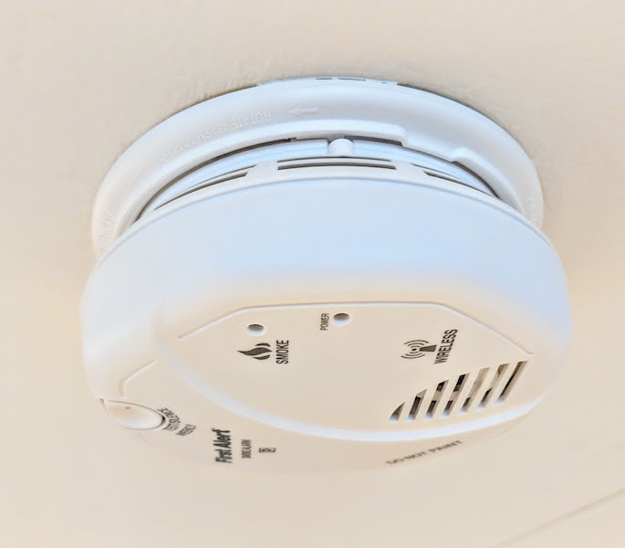 a smoke alarm can make the difference between getting out of a house fire, or not getting out safe.