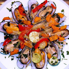 Mussels dish by Katerina