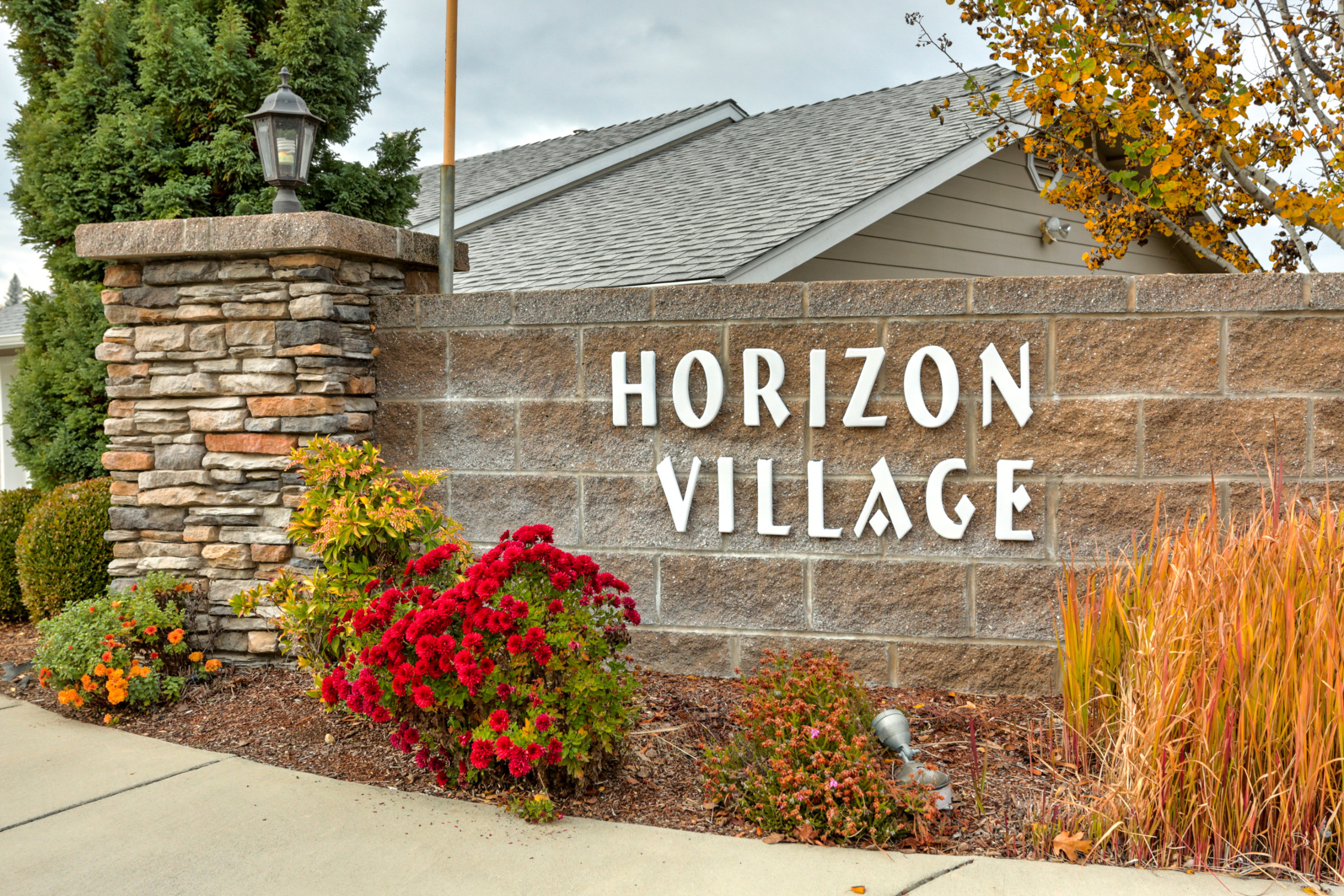 Horizon Village Entrance