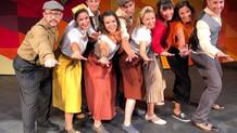 """Swingcopats s'estrena dins el musical de """"El préssec gegant"""". Maig 2019"""