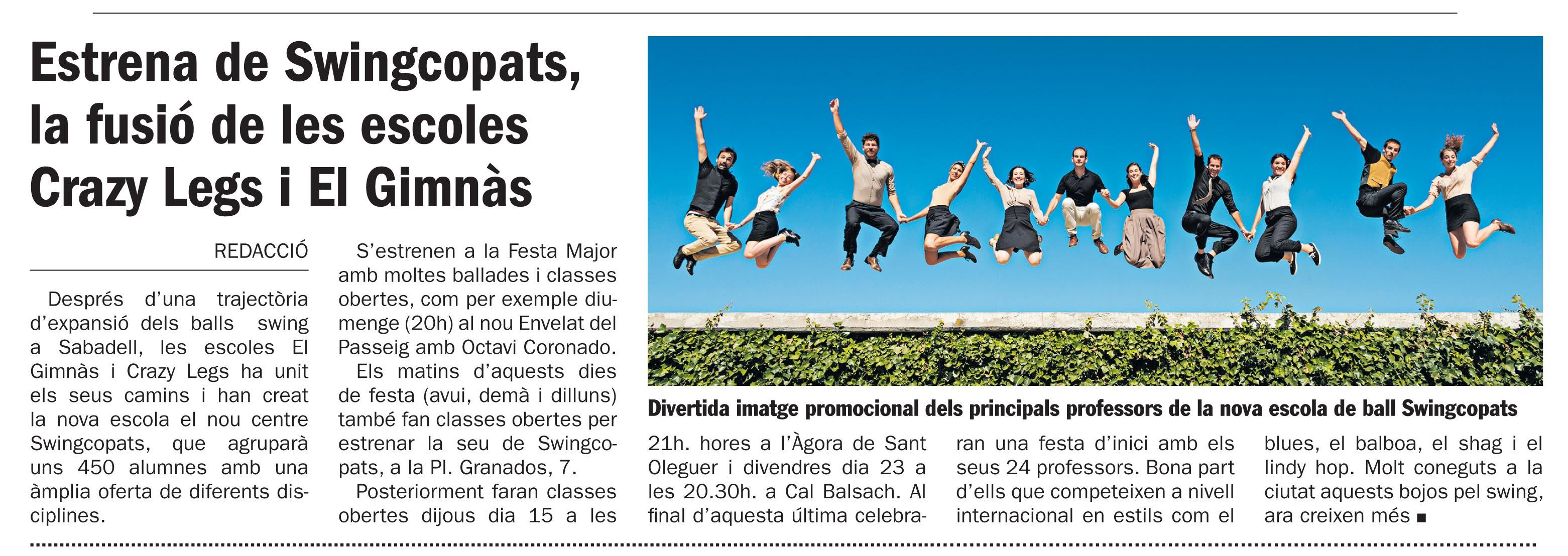 DIARI DE SABADELL 03/09/2016