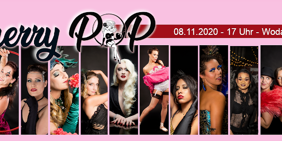 !Corona bedingt verschoben! - Zusatzshow: Cherry Pop - Die Burlesque Newcomer Gala