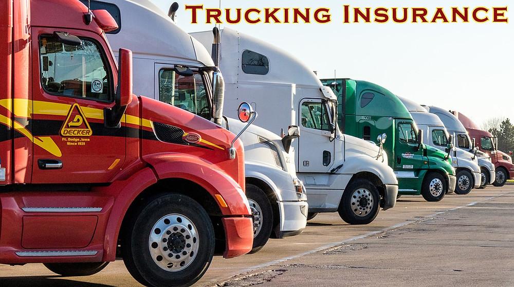 Trucking Insurance Oakland County, Livingston County, Macomb County Michigan