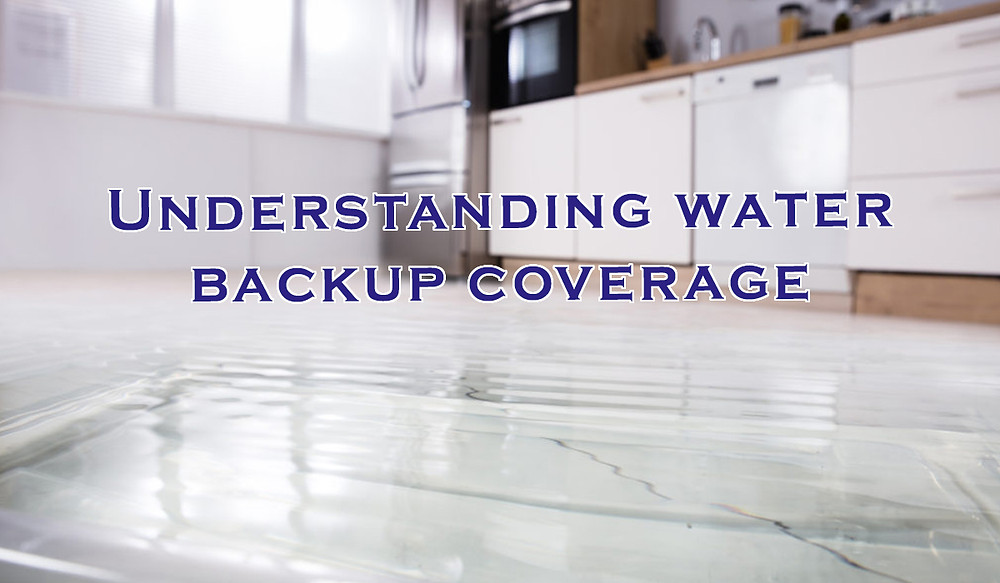 Home insurance, House insurance, Water backup