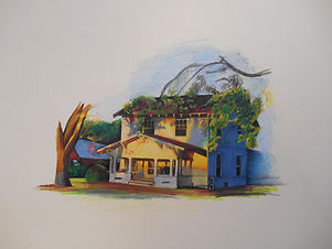 Sunset House - Color Pencil.jpg