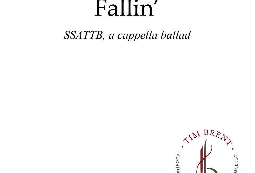 Fallin' (SSATTB) a cappella ballad