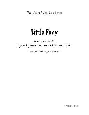Little Pony (SSATB) Fast Swing