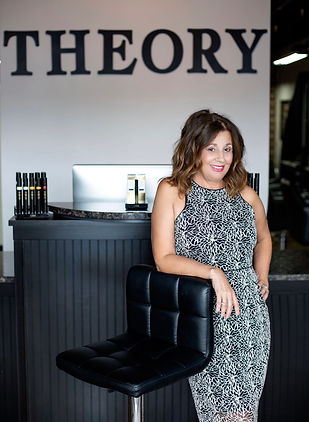 Theory Salon Owner Joi | specializing in color correction and short haircuts