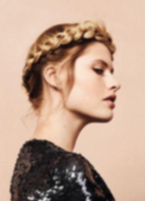 braids, balayage