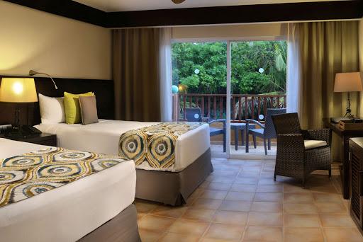 bedroom in Cafe in Catalonia Riviera Maya in MIXICO