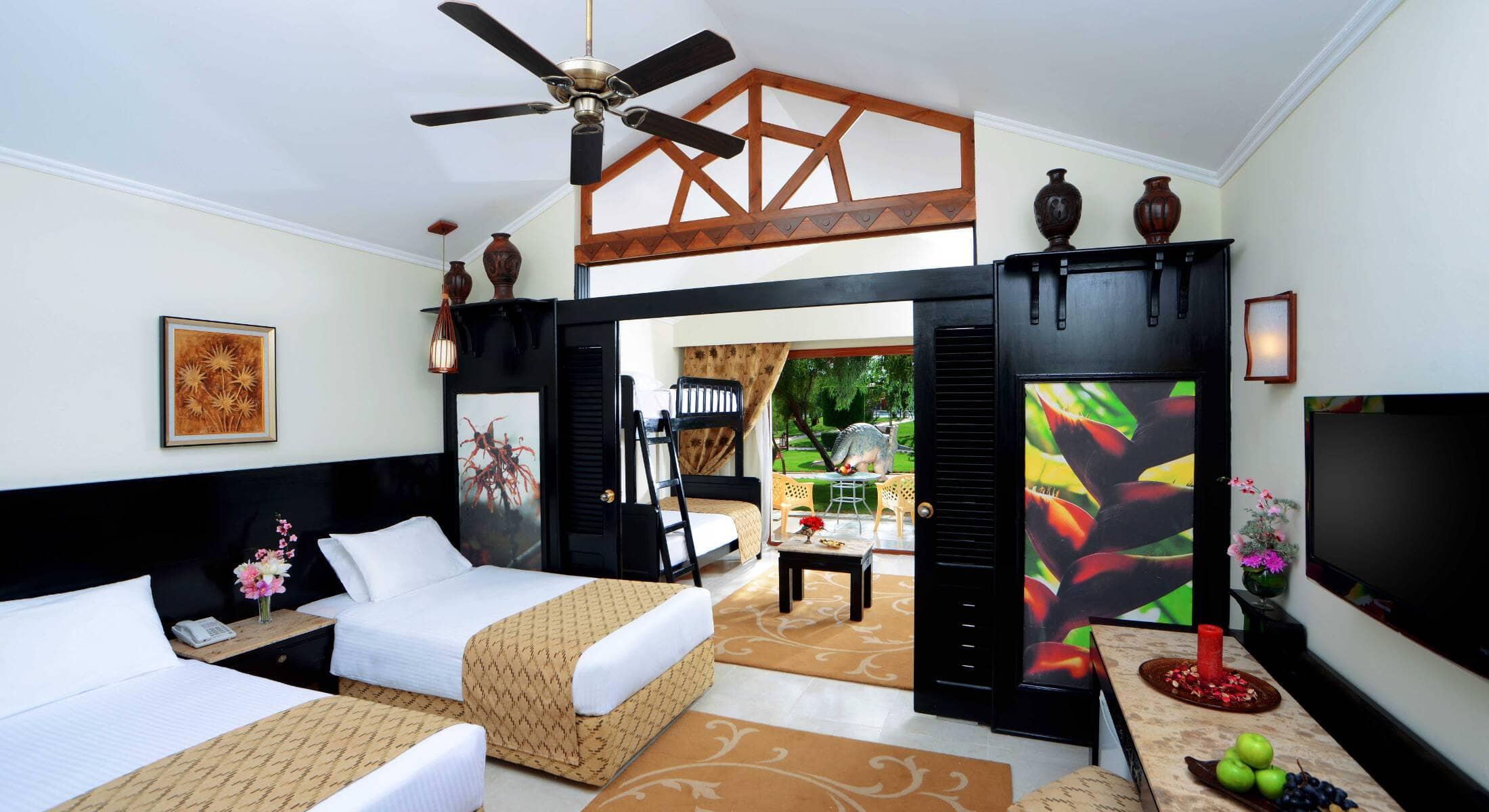 room in Jungle Aqua Park
