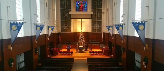 Sanctuary of First Methodist
