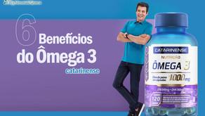 Os 6 benefícios do ômega 3 para sua saúde!