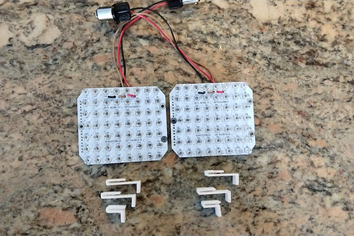 914 Rear RED Turnsignals with WHITE PCB (pair)