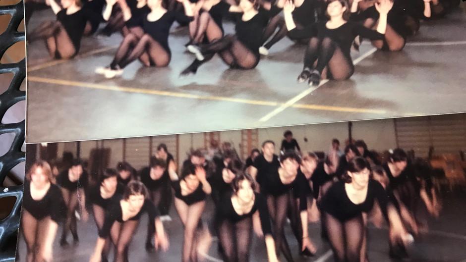 Esordi della ginnastica jazz al Fogazzaro
