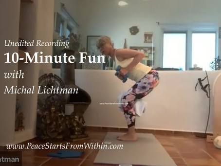10min Fun💫 – with focus on the breath