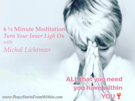 6½ Minute Meditation