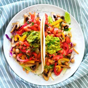 Vegan taco salade