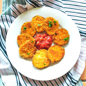 Crunchy auberginehapjes