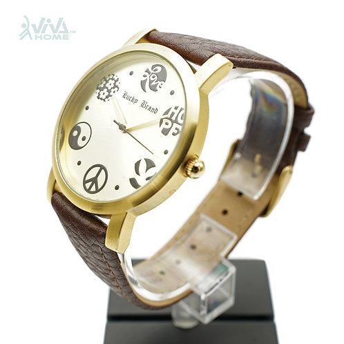 石英 男裝時尚手錶 LuckyBrandWatch-002