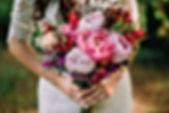 Singapore brida boutique with peonies bouquet and affordable price