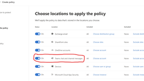 DLP in Microsoft Teams